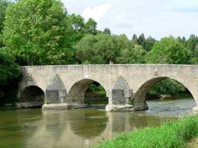 Brücke in Pfünz im Altmühltal